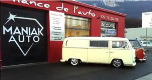 Relooking VW Combi Bay window MANIAK AUTO